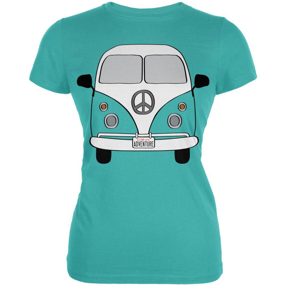 Halloween Travel Bus Costume Camper Adventure Juniors Soft T Shirt