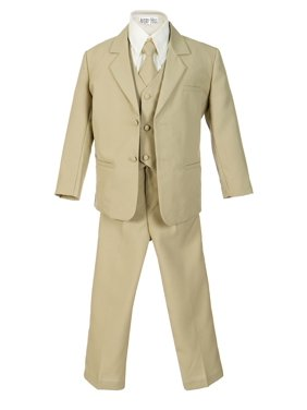 Avery Hill Boys Formal 5 Piece Suit with Shirt and Vest (Toddler, Little Boys, Big Boys)