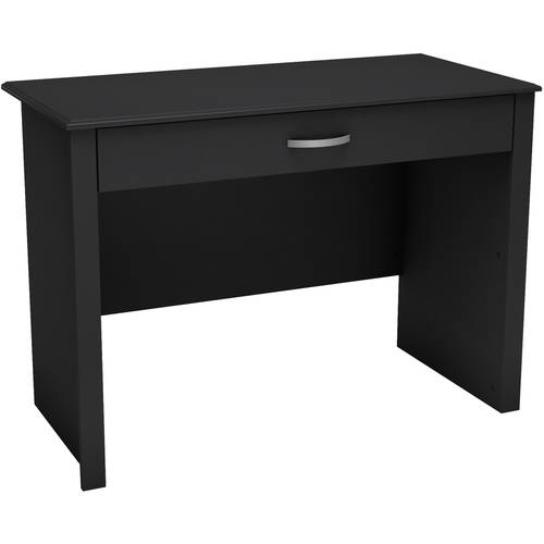 Work ID Secretary Desk-Finish:Pure Black