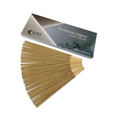The Original Masala Premium - Incense Sticks 100 Grams - 100% Natural No Chemicals - 1 Hour