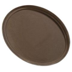 Griptite Oval Tray, 27, Fiberglass, Toffee Tan Carlisle Glasteel Toffee