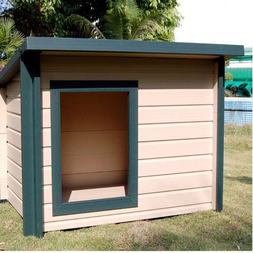 ecoChoice Rustic Lodge Dog House