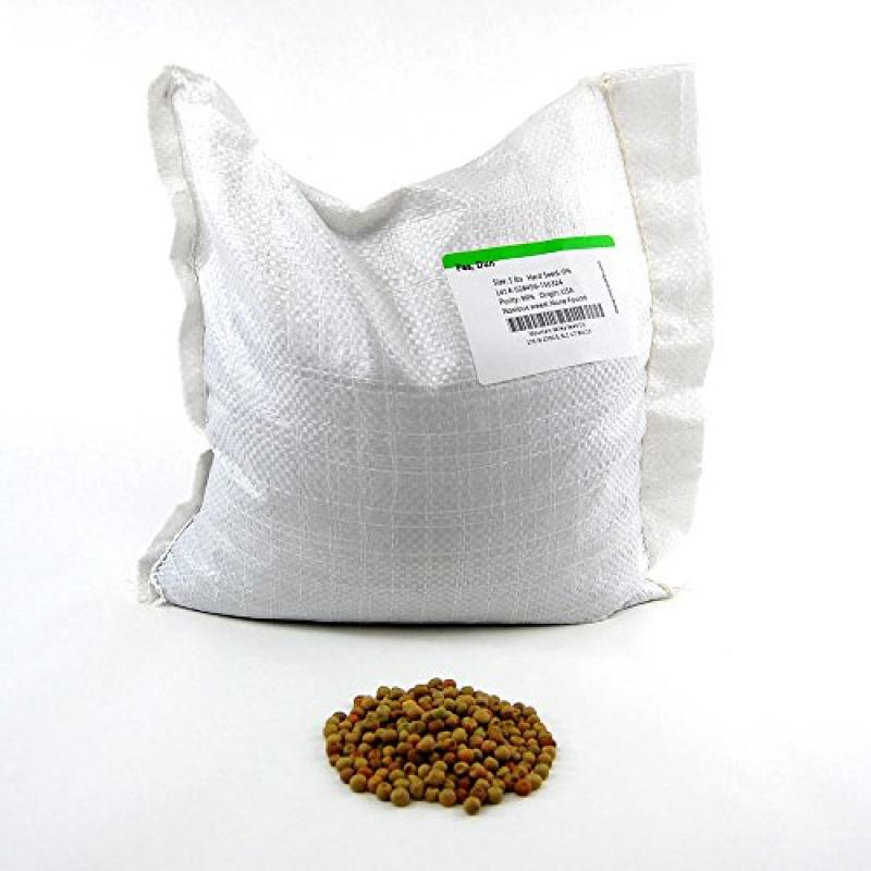 Dun Pea Seeds: 5 Lb Bulk, Non-GMO Peas Sprouting Seeds for Vegetable Gardening, Cover Crop, Microgreen Pea Shoots by
