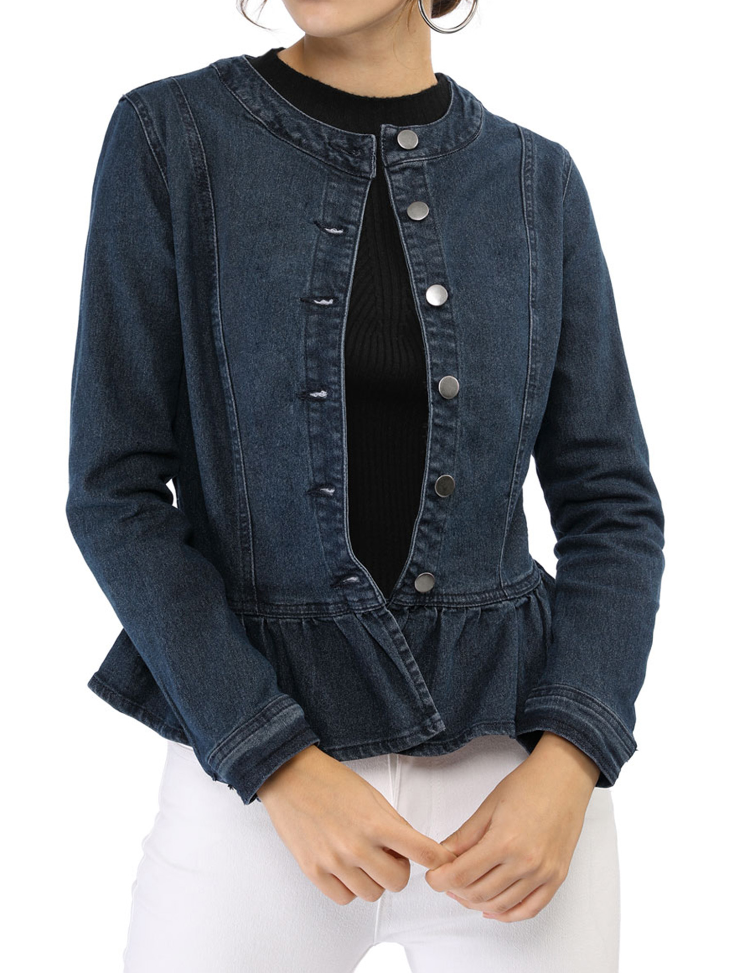 Baby Bobbin Neck Jacket