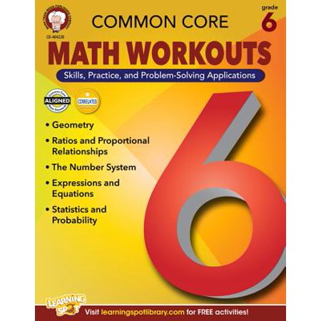 Common Core Math Workouts, Grade 6