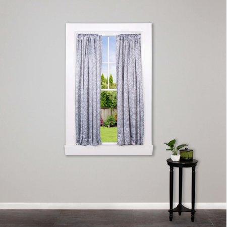 Mainstays 28-48 in. Adjustable Spring Tension Curtain Rod, 7/16 in. Diameter