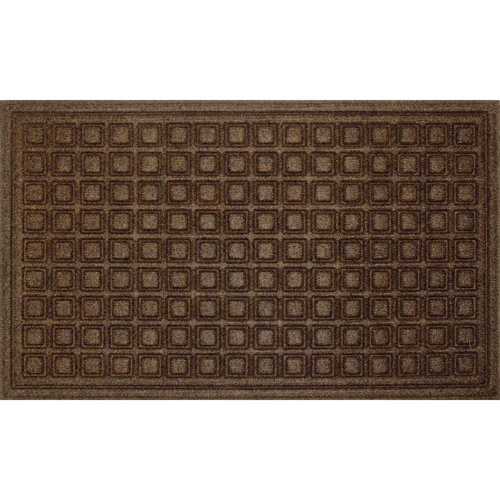 Charming Mainstays Textures Blocks Indoor / Outdoor Utility Mat