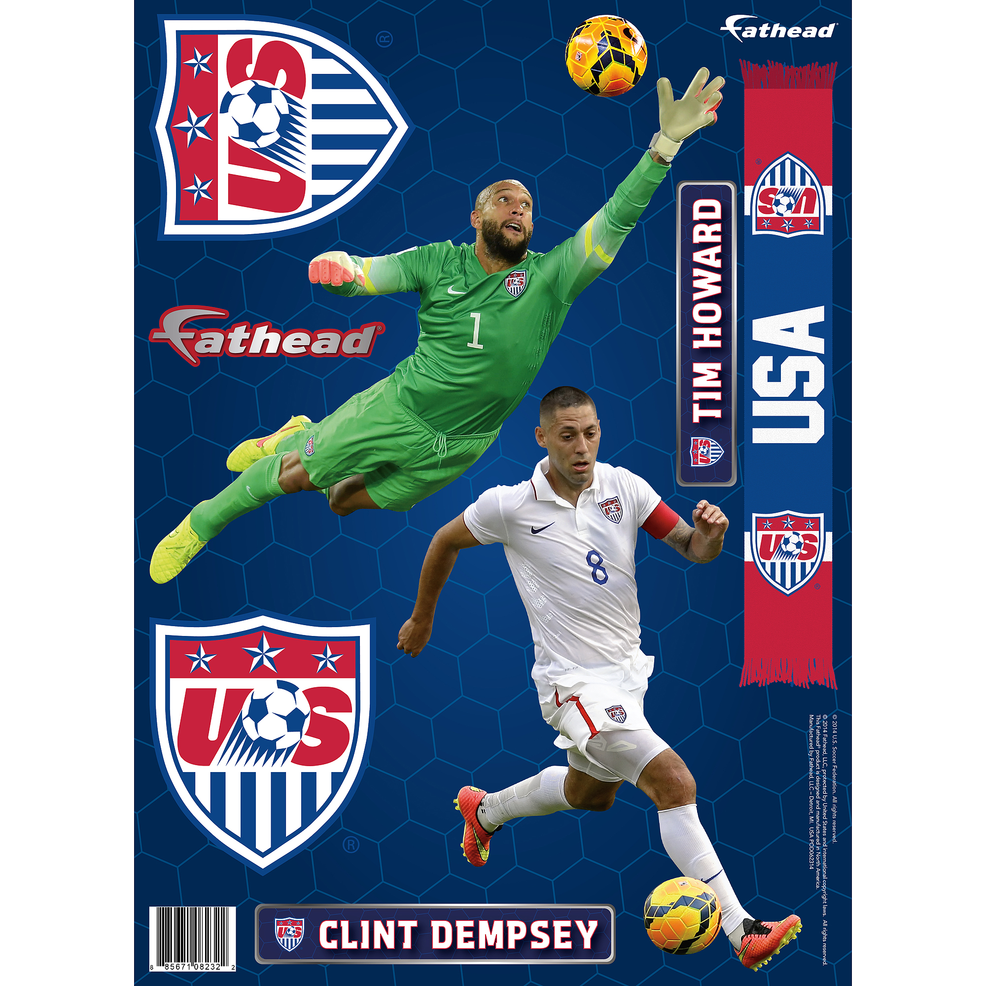FIFA 15 Fathead Team Pack - Walmart Exclusive (Universal)