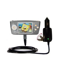 Intelligent Dual Purpose DC Vehicle and AC Home Wall Charger suitable for the Nickelodean Spongebob Squarepants Multimedia Player - Two critical funct