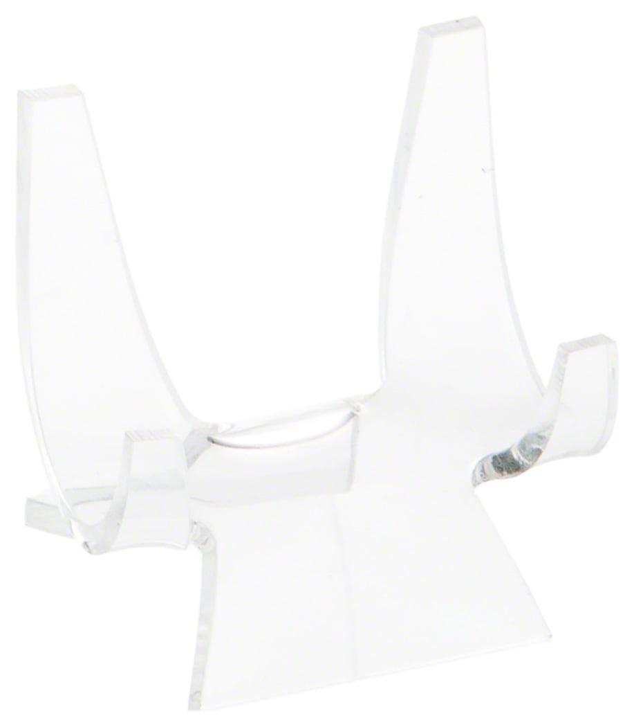 2.875 H x 2.125 D Plymor Brand Black Acrylic Adjustable Folding Easel
