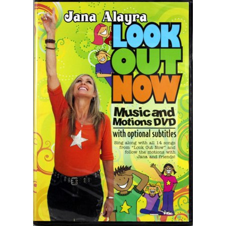 Jana Alayra And Friends Look Out Now DVD