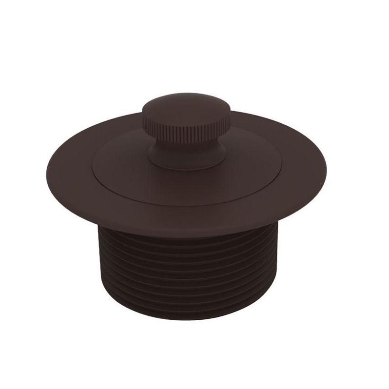 Brasstech 270/10B Lift and Turn Bath Plug, Oil Rubbed Bronze