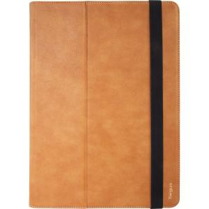 "VersaVu Premium 360 Rotating Carrying Case for 12.9"" Apple iPad, Brown"