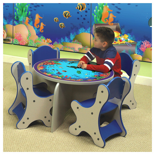 Playscapes Seascape Kids Side Table