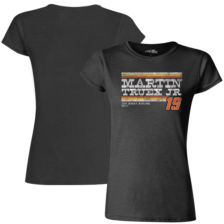 Martin Truex Jr Joe Gibbs Racing Team Collection Women's Vintage T-Shirt - Heather Black