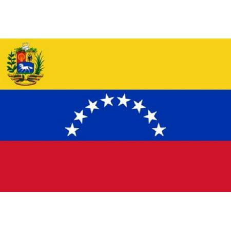 - 3x5 Venezuela Flag Country Banner South American Pennant Bandera Indoor Outdoor