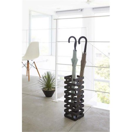 YAMAZAKI home 2363 5.9 x 5.9 in. Brick Umbrella Stand Slim - Black - Walmart.com