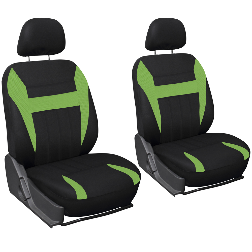 Oxgord Flat Cloth Bucket Seat Cover Set for Car/Truck/Van/SUV