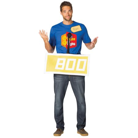 The Price Is Right Contestant Row Neutral Adult Halloween Costume - Saints Row 4 Halloween