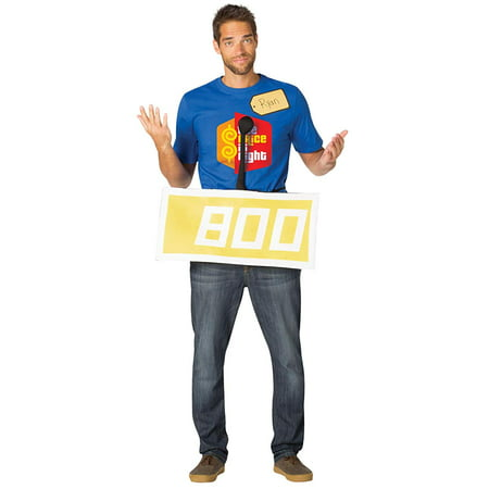 The Price Is Right Contestant Row Neutral Adult Halloween Costume - Costume Hire Prices