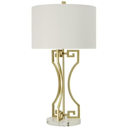 Golden Greek Table Lamp - Gold - Brussels White - Greek God Attire