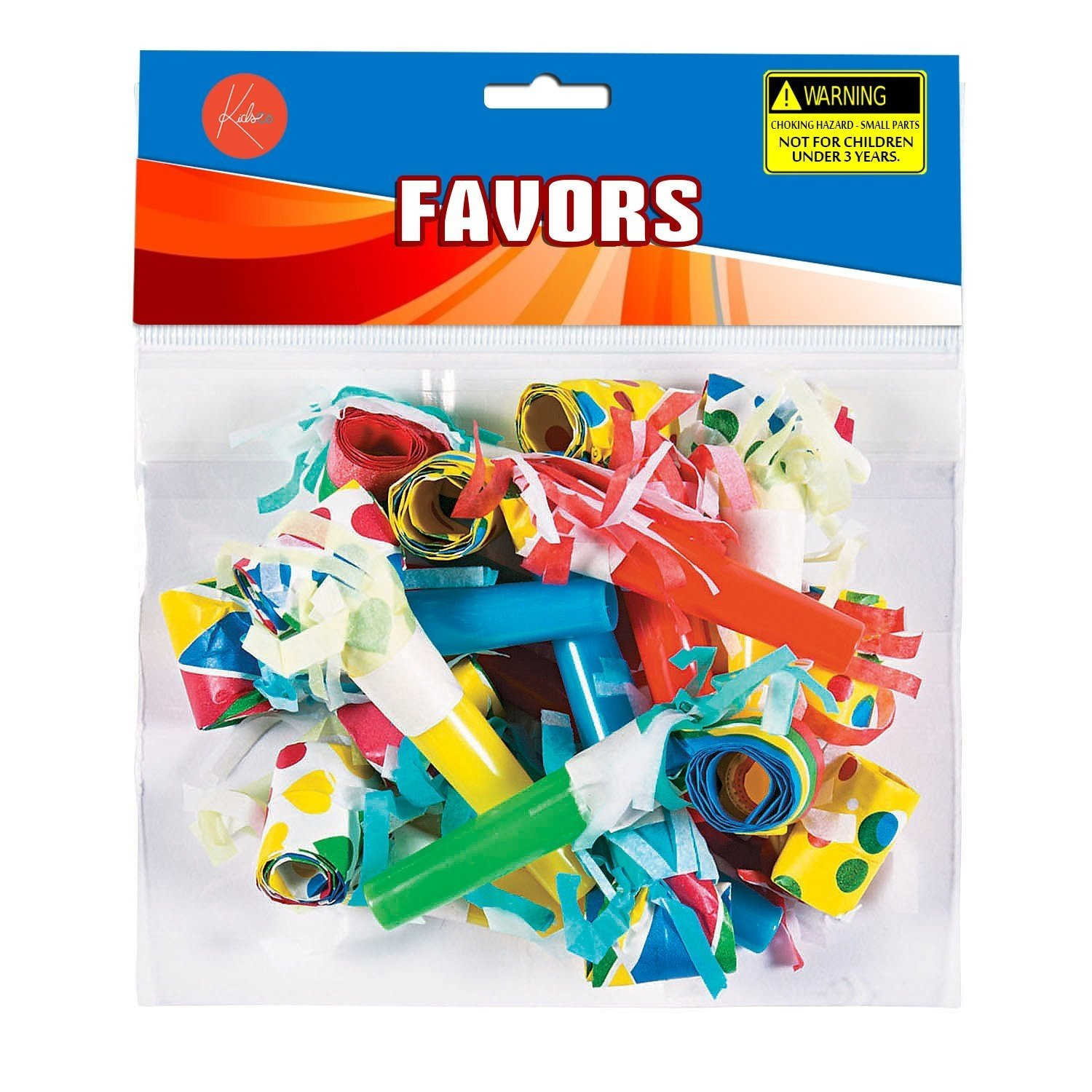 Party Bots Toy 3D Robot Space Boys Kids Birthday Party Favor Horns Blowouts