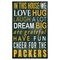 Fan Creations NFL In This House Sign