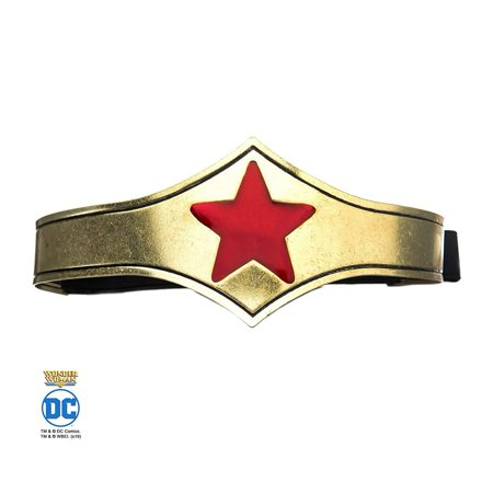 DC Comics Wonder Woman Tiara Adult Costume Headband](Wonder Woman Tiara)