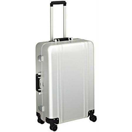 Zero Halliburton Classic Aluminum 26 Inch 4 Wheel Spinner Travel Case, Silver, One Size (Zero Halliburton Nylon Briefcase)