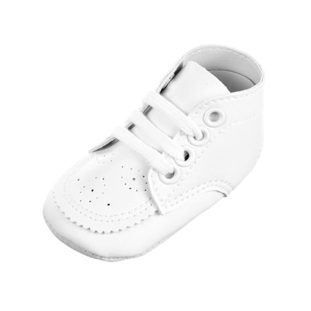 Big Oshi Baby Unisex Perforated Hi-Top Sneakers (Sizes 0 - 4) (Hi Top Tennis Shoes)
