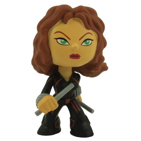 Funko Mystery Minis Vinyl Bobble Figure - Avengers Age of Ultron - BLACK WIDOW (2.5 inch)