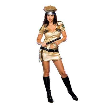 Sexy Wishes Women's Deputy Johnson Reno 911 Costume - 888754