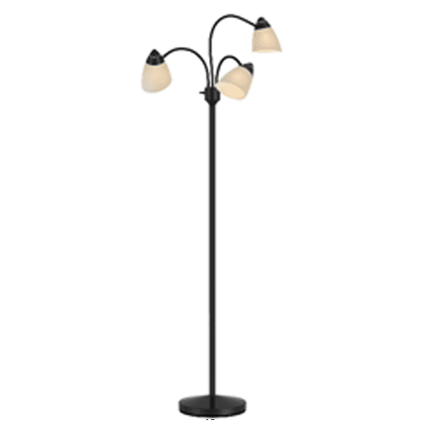 Mainstays 3 Head Floor Lamp