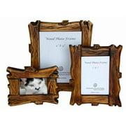 Sunshine Trading ST-11-7 Handmade Wood Photo Frame - 5 x 7 Inch