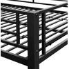 DHP Metal Bunk Bed, Full over Full, Multiple Colors, With 2 Mattresses