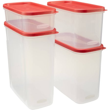Rubbermaid Modular Canisters  Food Storage Container  Bpa Free  8 Piece Set