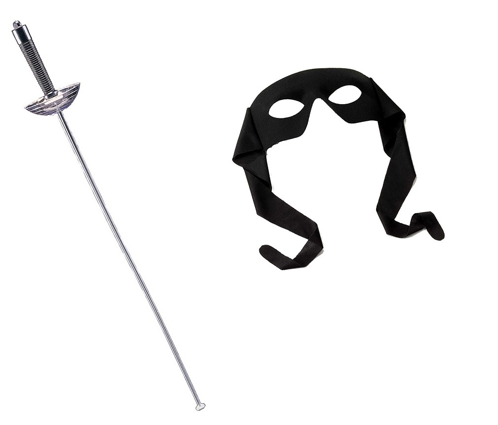 """24/"""" Plastic Fencing Foil Sword Zorro Renaissance Musketeer Toy Weapon Costume"""