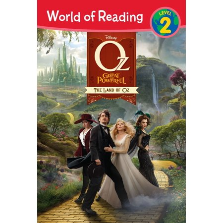World of Reading Oz the Great and Powerful: The Land of Oz - eBook - Oz The Great And Powerful Oscar Diggs