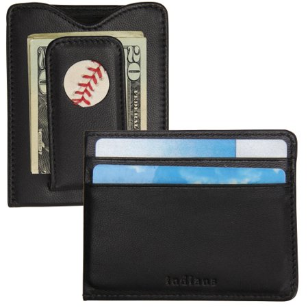 Mens Tokens   Icons Cleveland Indians Game Used Baseball Wallet