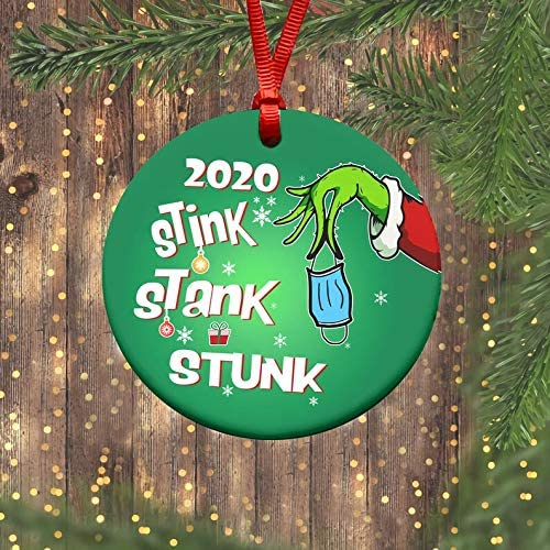 Toilet Paper Christmas Tree Pandemic Corona Personalized Christmas Ornament
