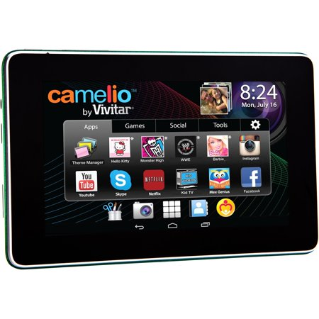 Sakar Camelio 2 Mini 4 3  Tablet   Tablet   Mini   Android 4 3   Google Play   Preloaded Games   Hd Video   Built In W