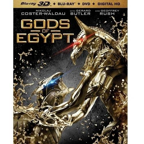 Gods Of Egypt (3D Blu-ray + Blu-ray + DVD + Digital HD) (With INSTAWATCH)