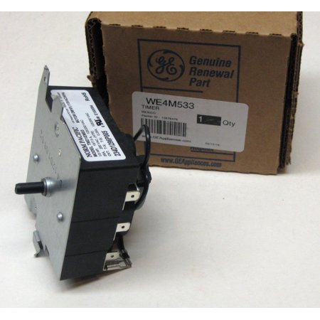 WE4M533 GE General Electric Dryer Timer Control OEM AP5780508 PS8690648 ()