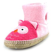 Hanna Andersson Owl   Round Toe Synthetic  Slipper