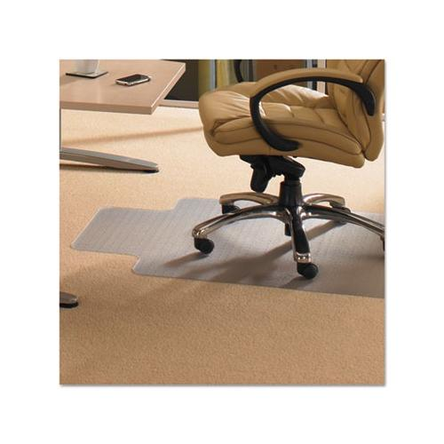 Ecotex Enhanced Polymer Clear Chairmat for Standard Pile Carpets up to 3/8 , ...