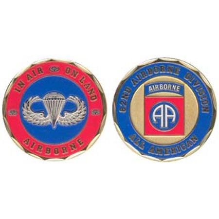 Army 82nd Airborne Division 1-1/8 Inch Challenge Coin