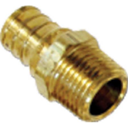 0.75 x 0.75 in. Brass Male Pipe Thread, Pack of 10 - image 1 of 1