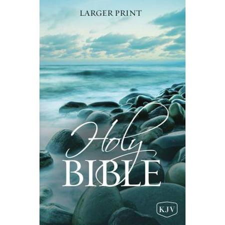 KJV, Holy Bible, Larger Print, - Larger Books