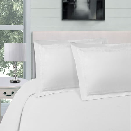 Superior Wrinkle Resistant Duvet Cover Set with Infinity Embroidery ()