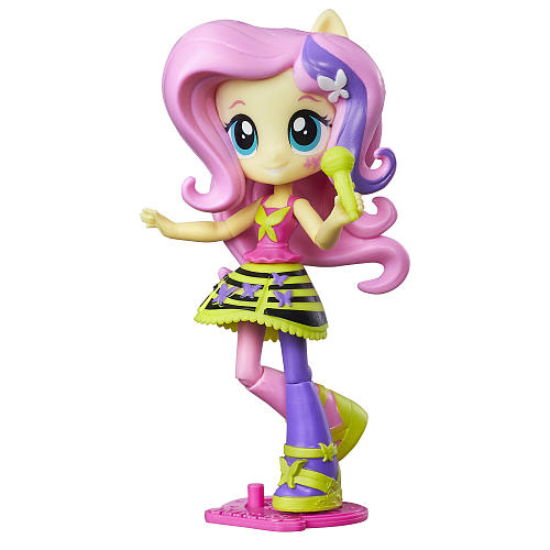 My Little Pony Equestria Girls Fluttershy Doll Pink by Hasbro
